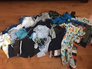 Lot of boys clothes 1-24 months