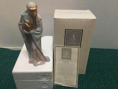 NIOB 1993 The Bethlehem Nativity Collection Porcelain Figurine~Magi Melchior  Bethlehem Nativity Figurine