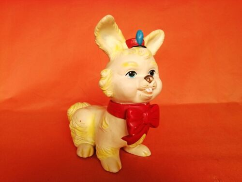 NO RESERVE RARE FREAK SHOW CIRCUS MARCHING BAND BUNNY BARTOPLAS COLOMBIA RUBBER