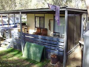 Onsite caravan, cabin with timber deck. Deniliquin Murray Area Preview