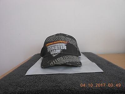 Advance Auto Parts Monster Jam Distressed  Baseball Cap