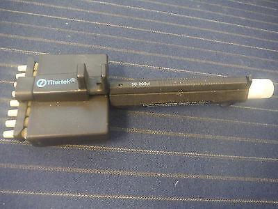 Titertek Manual Digital Multichannel Adjustable Pipette 50-200ul 8-channel