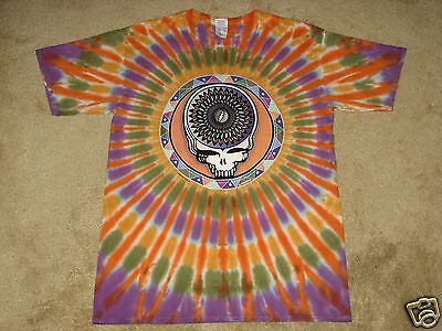 - Grateful Dead Steal Your Feathers M, L, XL, 2XL, 3XL, 4XL, 5XL Tie Dye T-Shirt