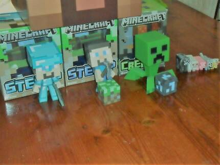 MINECRAFT TOYS - MOJANG - BUY IN BULK OR SEPARATELY