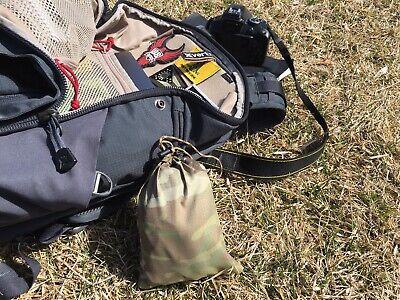 LIVESOUTSIDE DWR Multicam Camo Stuff Sack Hyperlight Bag Small Breathable New!!](Camo Stuff)