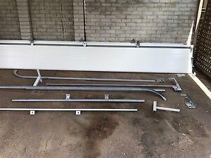 Double panel lift garage door with motor, swap for roller door Charnwood Belconnen Area Preview