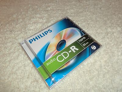 Philips Audio CD-R 80 Minuten / 700MB OVP&NEU, Audio CD-R Rohling HiFi-Recorder