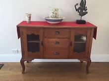 Antique dresser with queen ann legs Malvern East Stonnington Area Preview