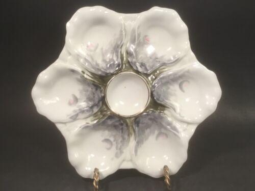 Antique Porcelain Oyster Plate c.1800