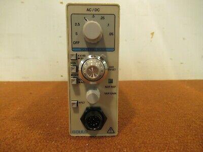 Data Sciences Gould 13-6618-10s Acdc Voltage Signal Conditioner Plug-in Module