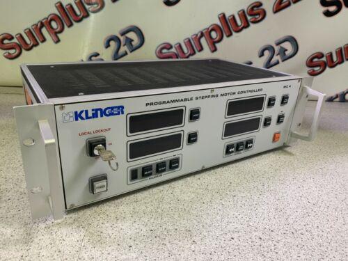 Klinger Scientific (Newport) MC 4, 4 Axis Programmable Stepping Motor Controller