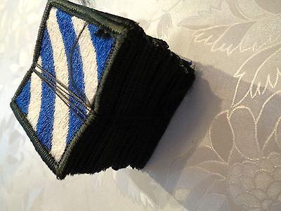 USA Abzeichen 3rd Infantry Division 20 Stück neu original