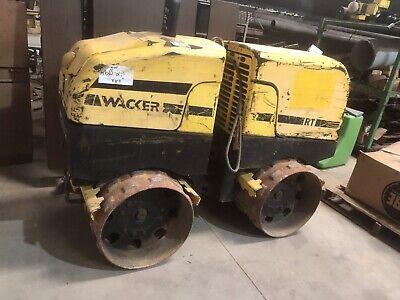 Wacker Neuson Rt82-sc2 Drum Roller Rt 82 Trench Compactor Tamper
