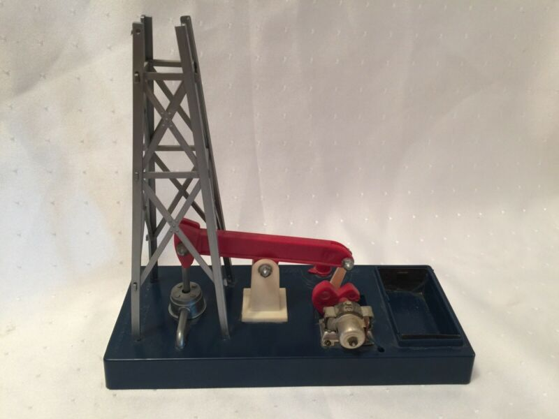 Vintage ESCON HUMBLE OIL REFINING CO. PUMP & DERRICK MELVIN G. MILLER Toy