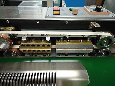 Dingye Usa Stocked Stainless Steel Horizontal Band Sealer Embossing Machine