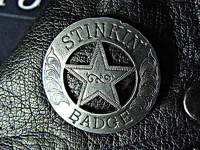 Stinkin' Badge Classic Vintage Old School Motorcycle Old School Biker Pin 1053Aa
