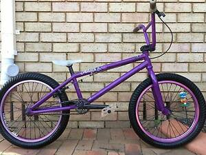 "Eastern Trace Purple 20"" inch BMX Mid/New School Bike Bicycle Cambridge Park Penrith Area Preview"