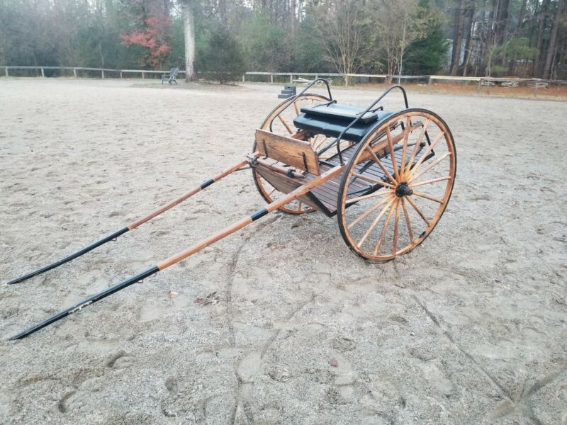 Great Condition Two Wheel Horse Carriage Meadowbrook