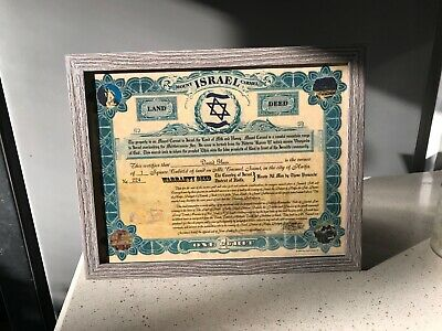 Your Land in Israel - Buy a piece of land in Israel for only $45! Not a gimmick!