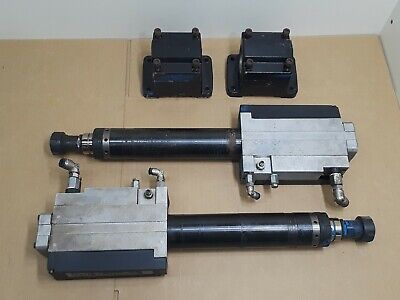 2 Chicago Pneumatic Desoutter Afd415 2100rpm Auto Feed Drills Tapper Tapping