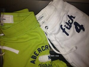 Abercrombie sweats 2 pairs brand new