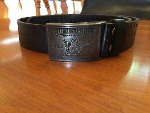 True Religion leather belt