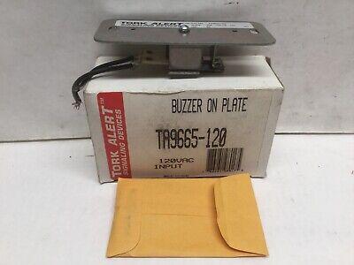 Tork Alert Signaling Devices Ta-9665-120 Buzzer On Plate 120vac .035a