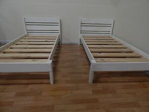 Matching Bunkers white single beds SYDNEY DELIVERY & ASSEMBLY Windsor Hawkesbury Area Preview