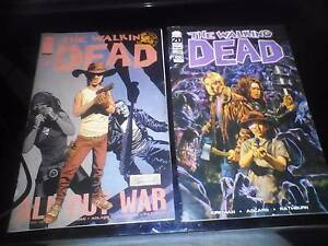 2 x The Walking Dead comic book $5 each Stafford Heights Brisbane North West Preview