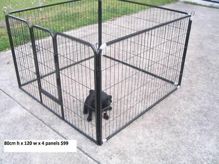 BRAND NEW Pet Dog Encl Play Pen Run-80cmHx120cmWx4 PANEL