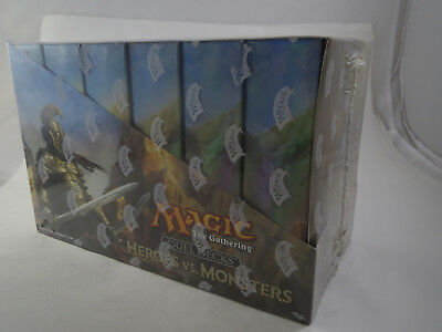 Magic the Gathering MTG Duel Decks Heroes Vs. Monsters Facory Sealed Case of 6