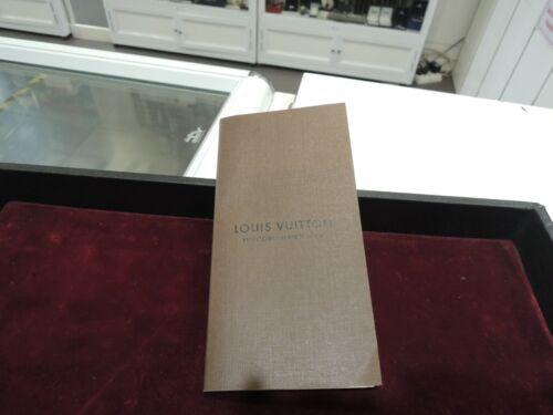 LOUIS VUITTON ADDRESS LONG BOOK