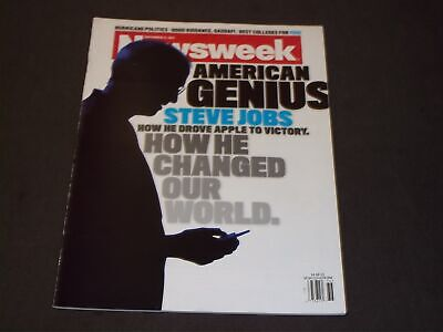 2011 SEPTEMBER 5 NEWSWEEK MAGAZINE - STEVE JOBS FRONT COVER - D 2719