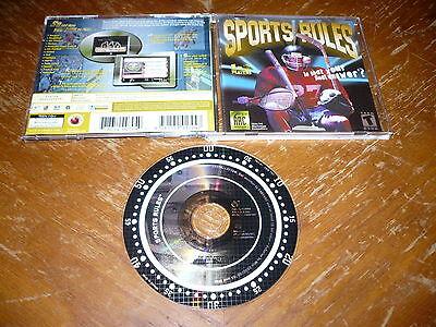 Разное Sports Rules PC/Mac CD-ROM 2000