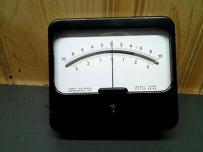 55tbi Jewell Lighted Meter 10-0-10 Es-50uadc New Old Stock