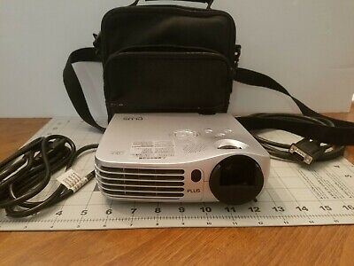 Dlp Plus V-332 Projector 1200 Lumen Portable Projector Excellent Condition