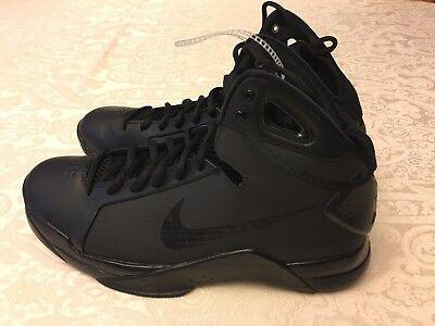 2aba134adf3f Nike Hyperdunk 08 Retro Triple Black Kobe Basketball 820321-002 Men s Size  10.5