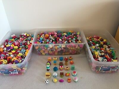 Shopkins Random Surprise Lot Of 25 Season 1 2 3 4 5 6 7 8 9  No Duplicates  Bags