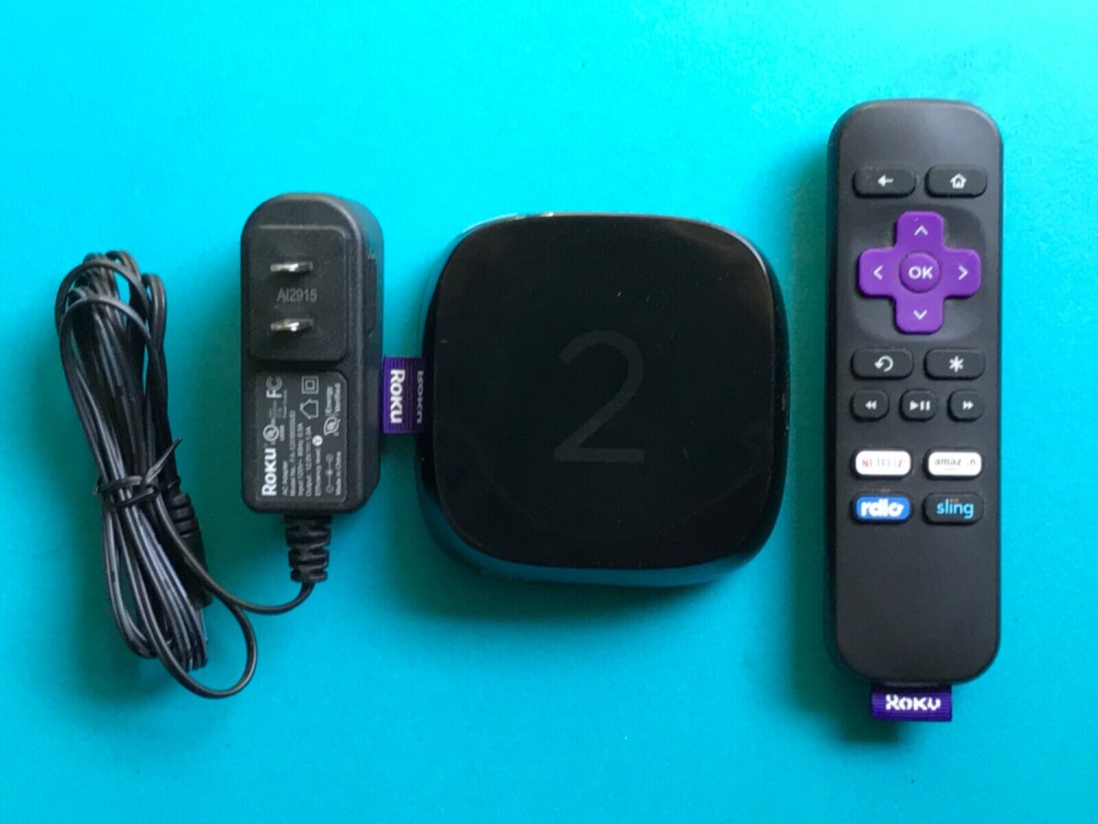 Roku 2 Streaming Player 4210X HD With Remote - Black Works Very Well - $14.99