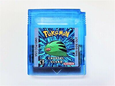 Pokemon Crystal Clear ROM Hack Nintendo Gameboy Color Advance GBC GBA (USA)