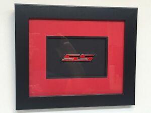 Chevrolet Camaro SS Emblem - Framed
