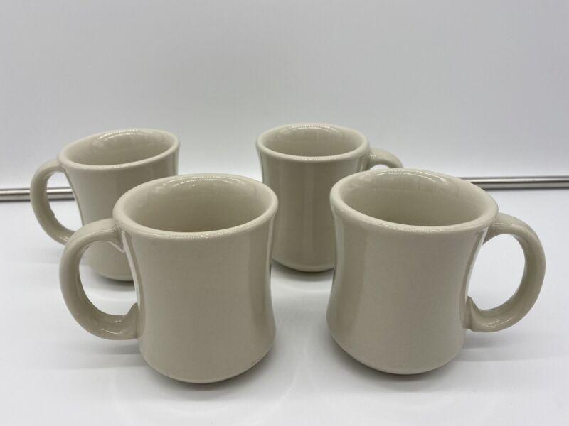 Lot 4 Heavy Duty Coffee Mugs Cups Restaurant Diner Deli style World Ultima 6oz