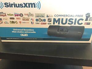 Sirius XM universal boom box