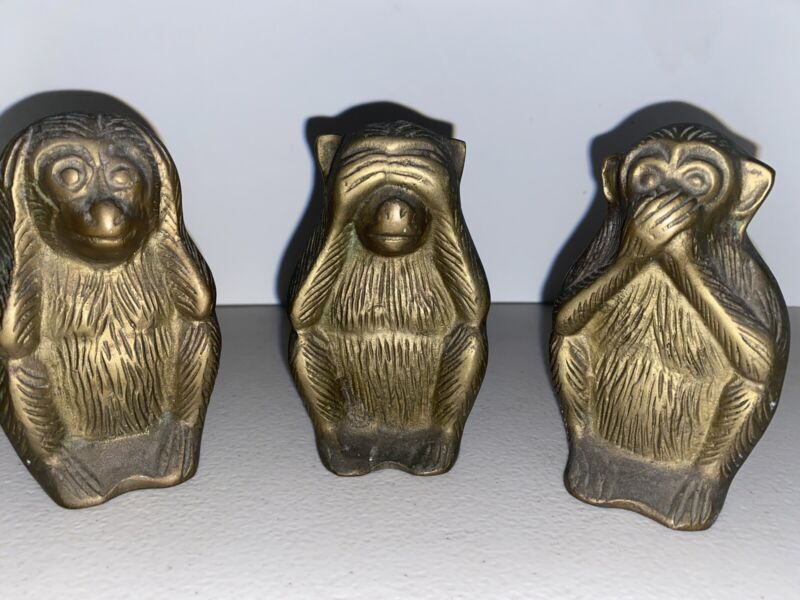Brass Monkeys Here See Speak No Evil