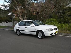 2001 Toyota Corolla Seca Liftback Roseville Ku-ring-gai Area Preview