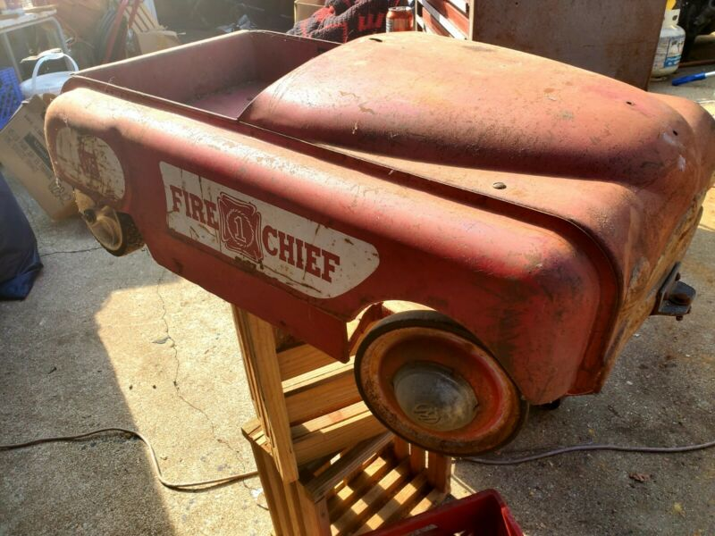 Antique Carnival Ride Fire Engine