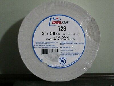 Ideal Tape Cold Seal 728 3 X 150 Ft 3 X 50 Yds Awf Asj Insulation Tape