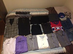 Young men/teen dress clothes and jeans sizes 16-18
