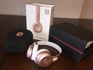 beats solo3 wireless headphone special edition rose gold