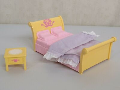 Loving Family Sweet Sounds Parents Bedroom Doll House Fisher Price Furniture Lot